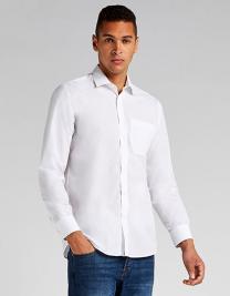 Tailored Fit Poplin Shirt Long Sleeve