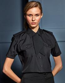 Ladies` Short Sleeve Pilot Shirt