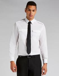 Men`s Tailored Fit Pilot Shirt Long Sleeve
